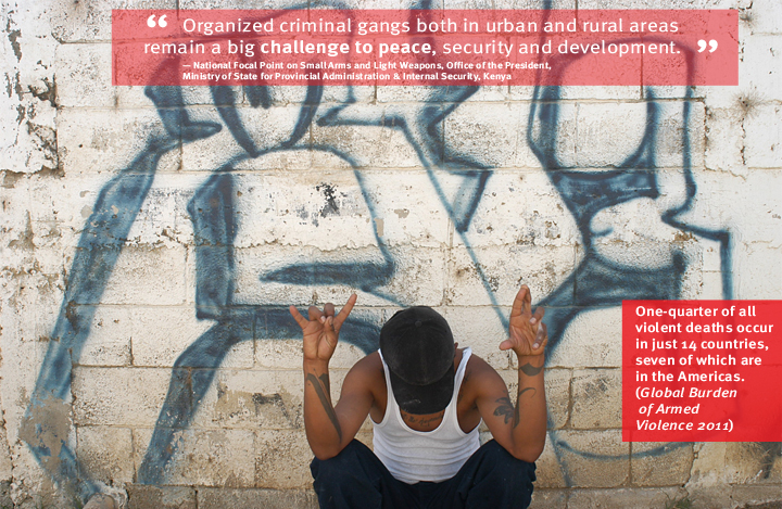 Guatamala: For many young people in Central America, being a member of a youth gang—and often a life of violence —can be the only option available for survival. Photo: Sandra Sebastian/Interpeace